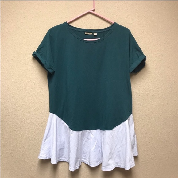 Anthropologie Tops - [Anthro Holding Horses]Colorblock Mini Dress/Tunic